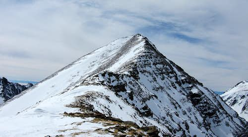 Humboldt's east ridge