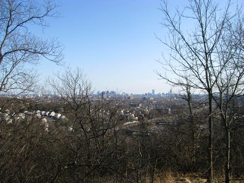 Boston from Pine Hill