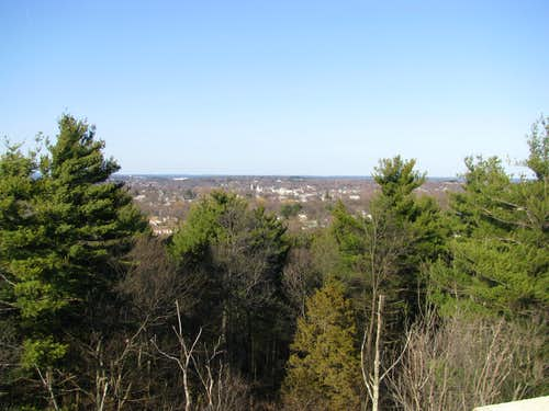 Stoneham from Bear Hill