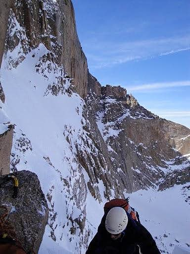 A Test of Fortitude On the Notch Couloir