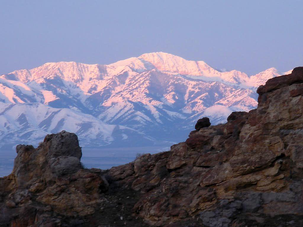 Deseret Peak View
