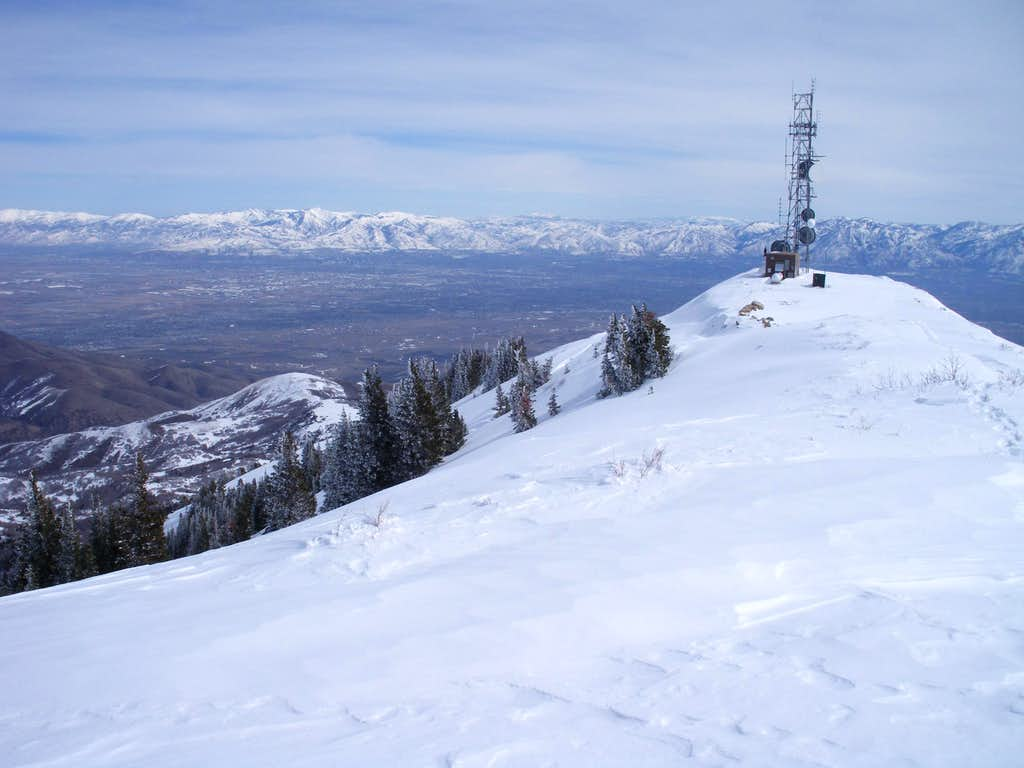 West from the Summit