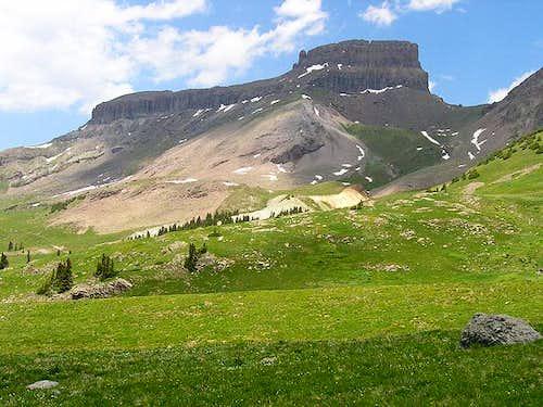 Coxcomb Peak from Wetterhorn...