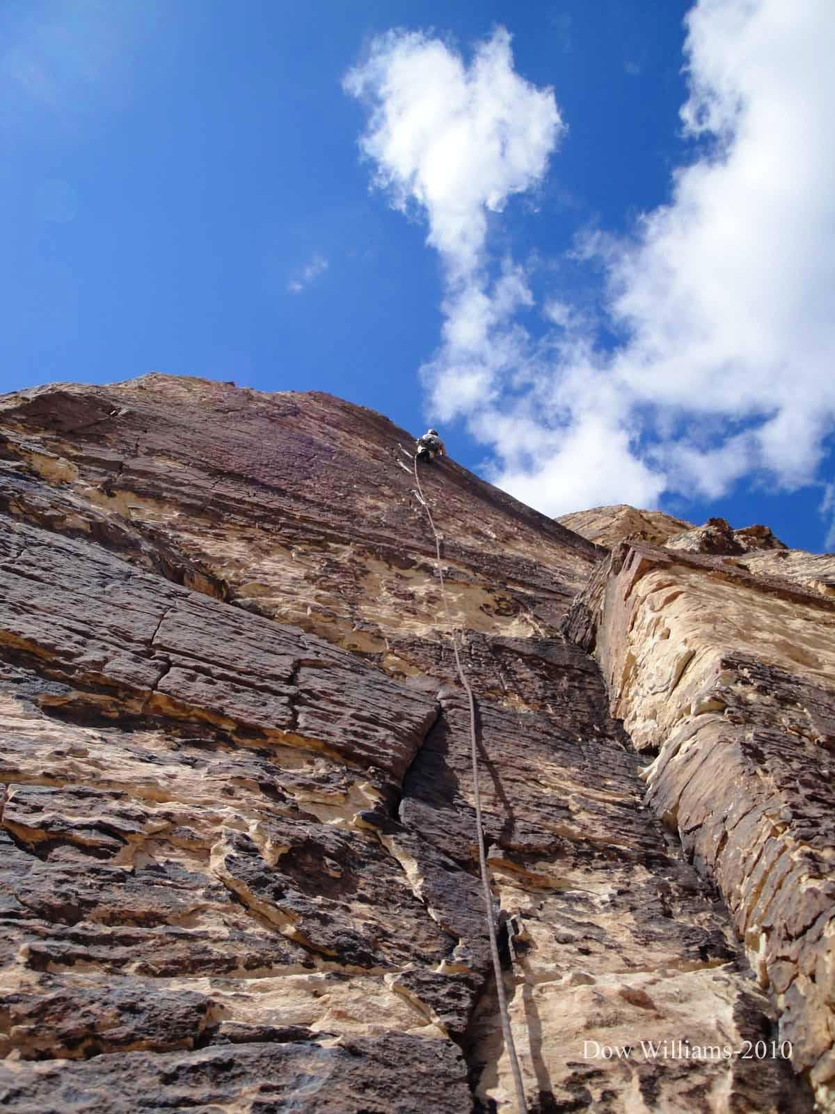 Mountain Beast, 5.11a, 8 Pitches