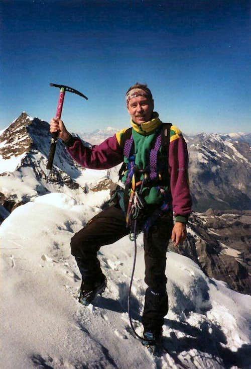The Eiger summit