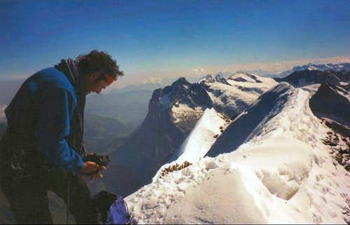 The Eiger summit