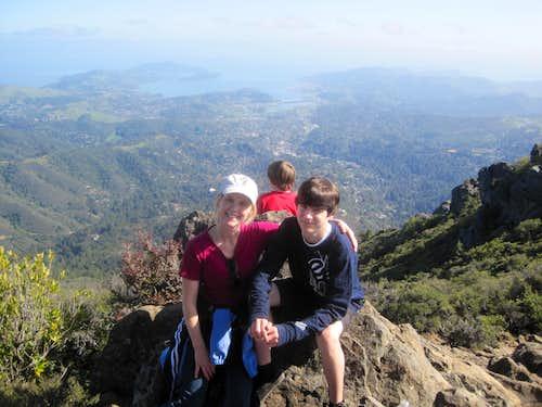 My son Tyler & my Wife Dawn