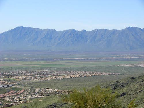 Gila Valley Lookout View