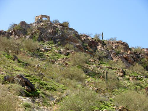 Old Ruins On South Mountain