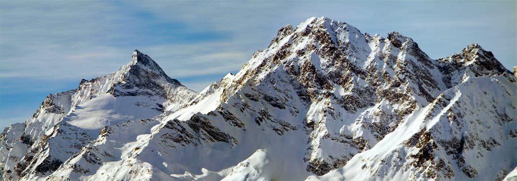 Grande Rousse Mountain Chain