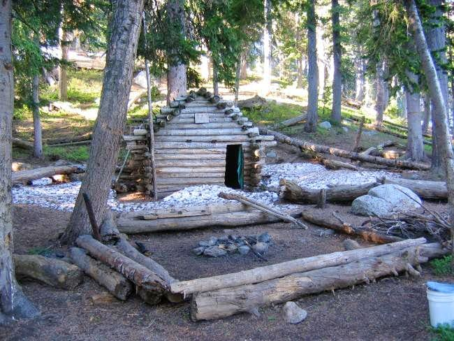 The 'Outlaw Cabin', a...
