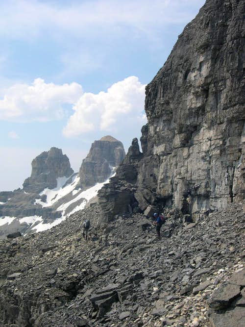 South Face of Mt Assiniboine