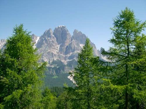 Monte Cristallo seen among...
