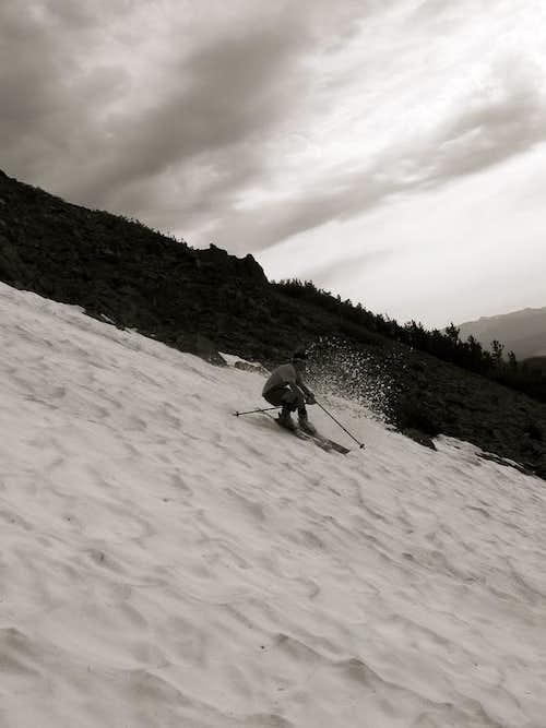Late Summer Skiing