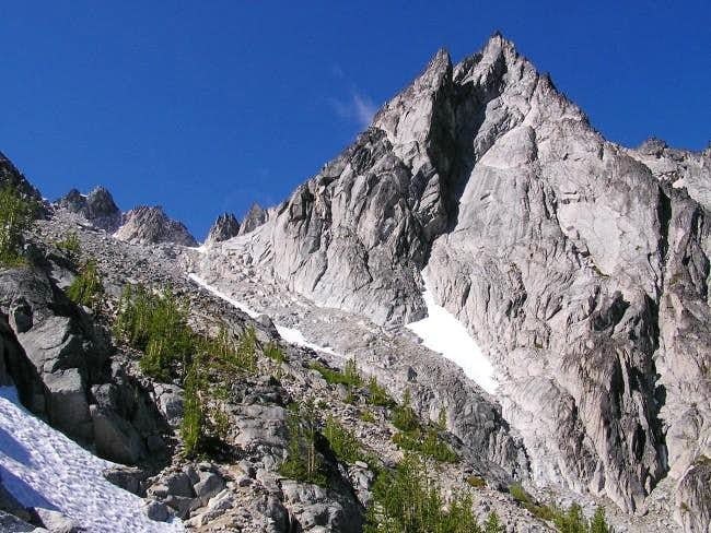 Dragontail Peak from the...