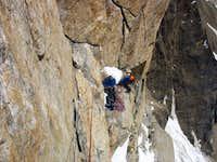 Lukpilla Brakk - climbing
