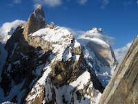 Baintha Brakk (7285 m) from Lukpilla Brakk