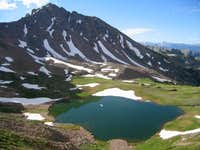 Snow Peak reflects into...