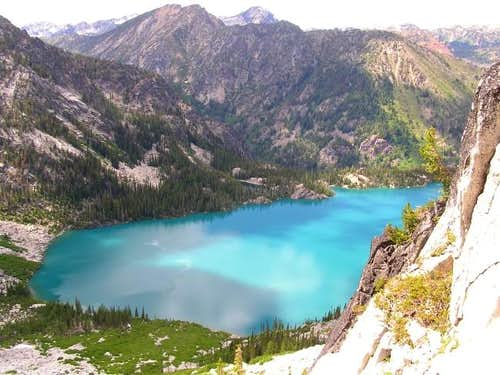 Colchuck Lake from the route...