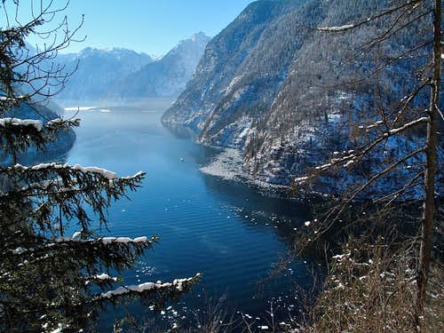The Königssee, seen from the
