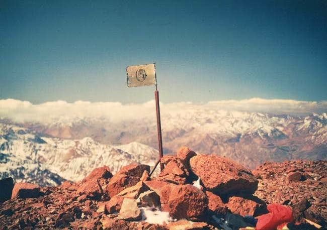 Mercedario summit 1993