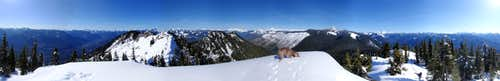 Beckler East Peak 360° View