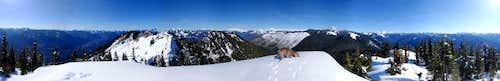 Beckler East Peak 360° View