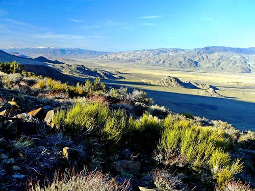 Owens Valley from west of Independence