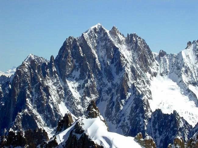 l'aiguille Verte (4122 m.)