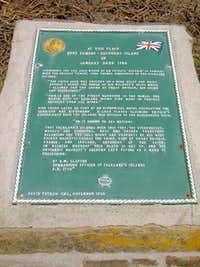 Port Egmont Commemorative Plaque