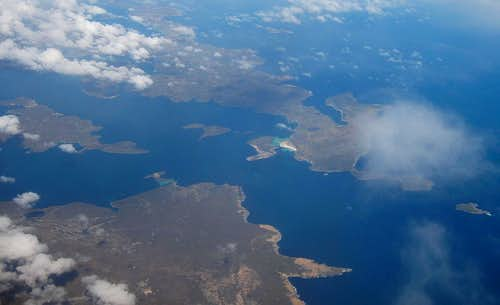 First View of the Islands