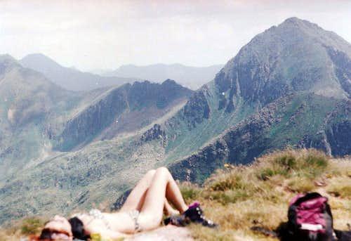 Summit resting