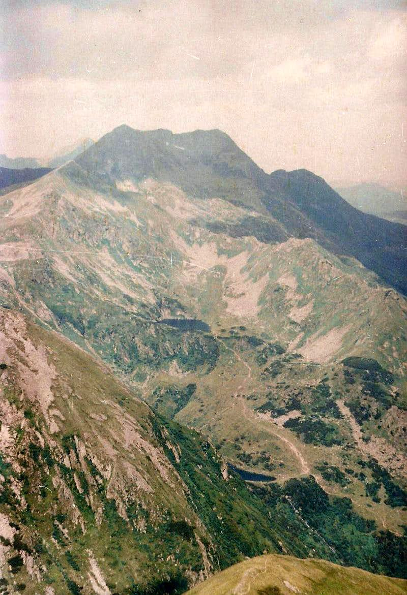 From summit to Kaltenbachsee