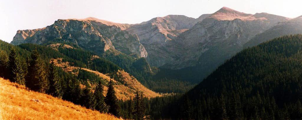 Summits of Czerwone Wierchy