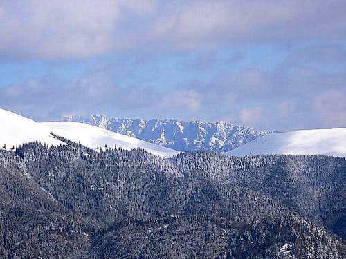 South ridge of Piatra Craiului.