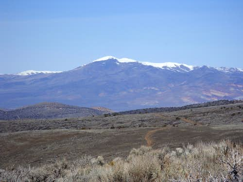 Tule Peak from Spanish Springs Peak