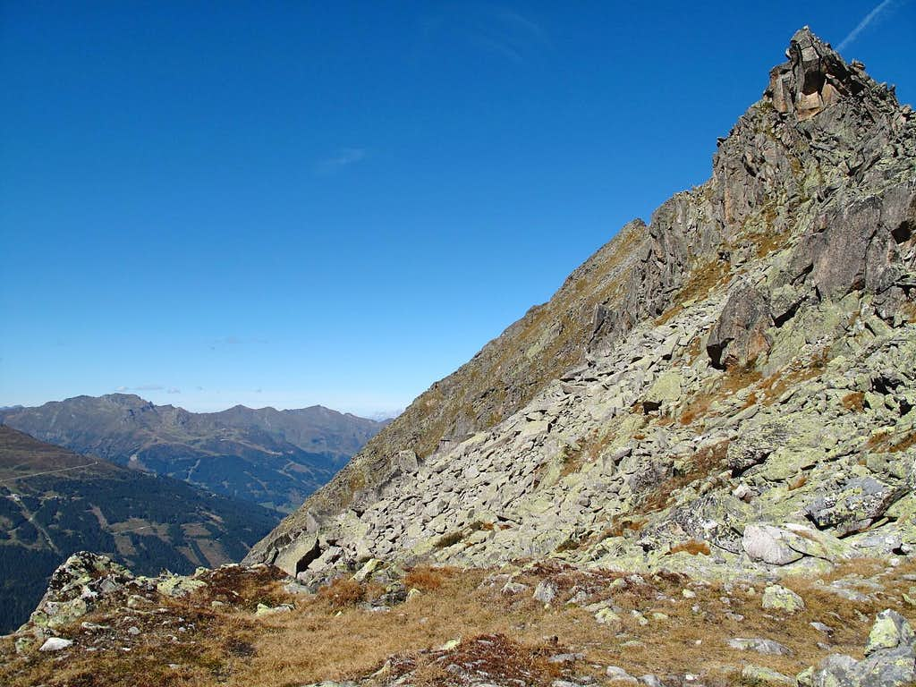 The southeast build-up of the Graukogel