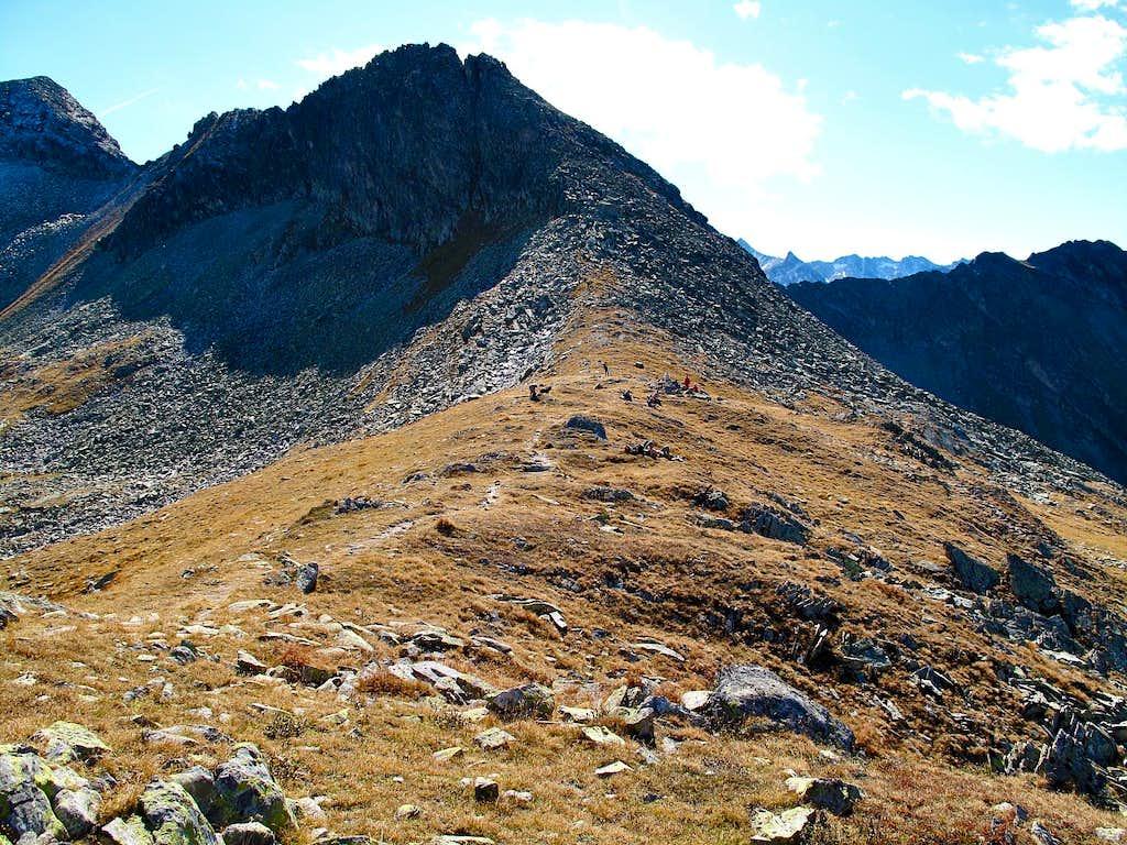 Palfnerscharte pass, 2321m