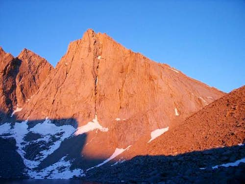 Sunrise on the East Face of...
