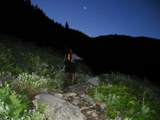 Approach on Hannegan Pass...
