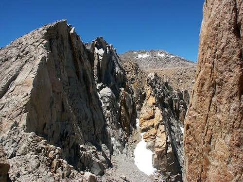 The last leg of the NE ridge...