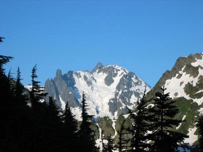 View of Mt. Shuksan (9127 ft)...