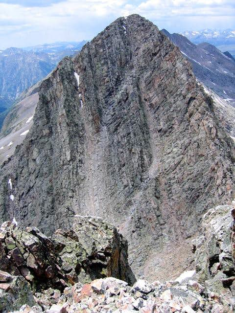 Trinity Peak, seen from the...