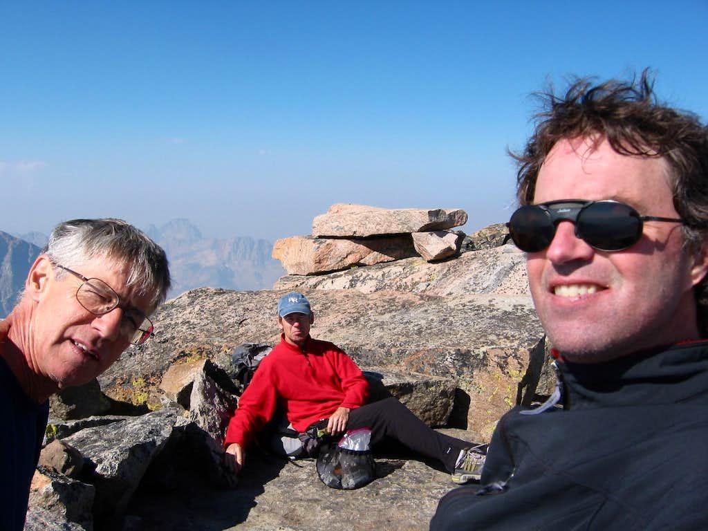 Summit of Granite Peak