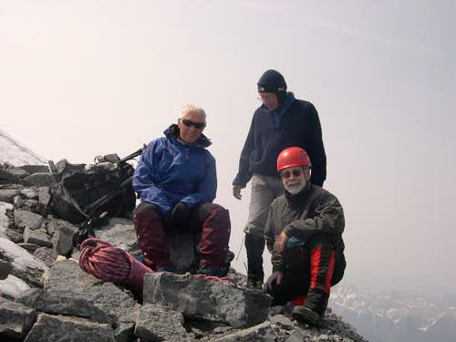 Summit of Mt Assiniboine