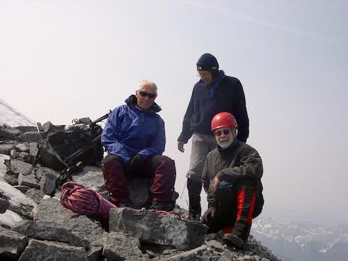 Summit of Mt Assiniboine