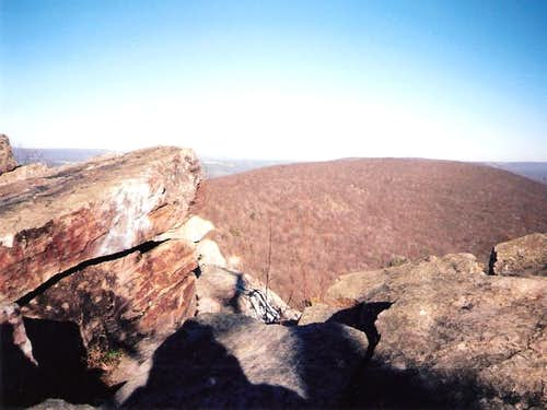 Looking northeast from Bake Oven Knob