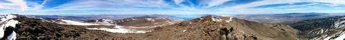 Pah Rah Mtn Summit Panorama