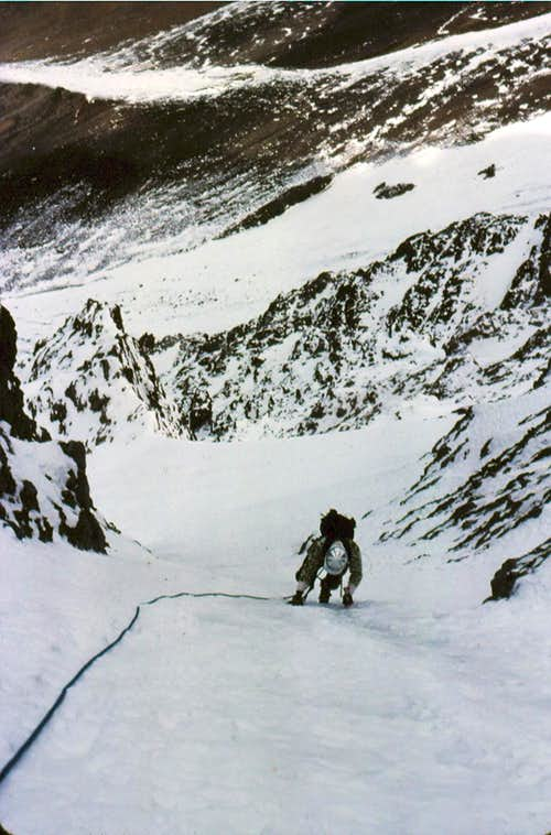 The Main Couloir