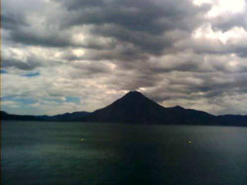 San Pedro Volcano from...